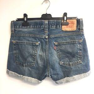 LEVI's 506 Vintage Standard Denim Shorts 32